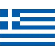 "4x6"" Hand Held Greece Flag"