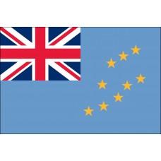 """4x6"""" Hand Held Tuvalu Flag"""