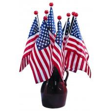 "8x12"" Hand Held American Flag (Saf-T-Ball) - 1 Gross"