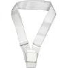 Single Webbing Parade Carrying Belt (White)